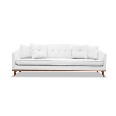 Roy 84 Sofa Upholstery: White