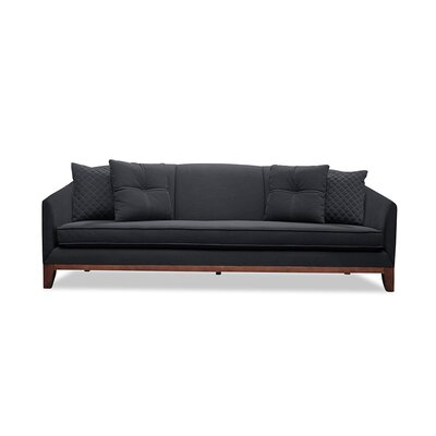 Roy 84 Sofa Upholstery: Charcoal