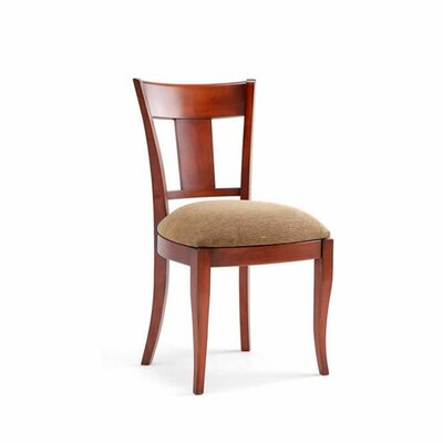 Beata Side Chair (Set of 2) Upholstery: Brown