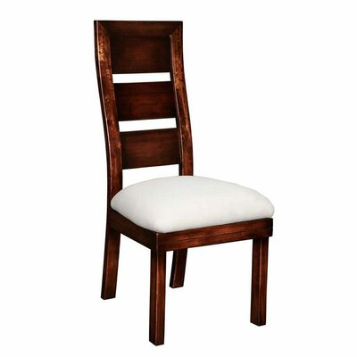 Aida Side Chair (Set of 2) Upholstery: Brown