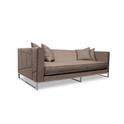 Lawrence 80 Sofa Upholstery: Brown