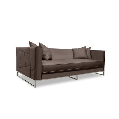 Lawrence 80 Sofa Upholstery: Coffee