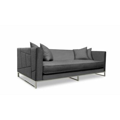 Lawrence 108 Sofa Upholstery: Charcoal