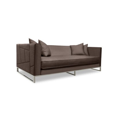 Lawrence 108 Sofa Upholstery: Coffee