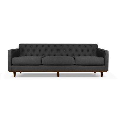 Harvey 60 Sofa Upholstery: Charcoal