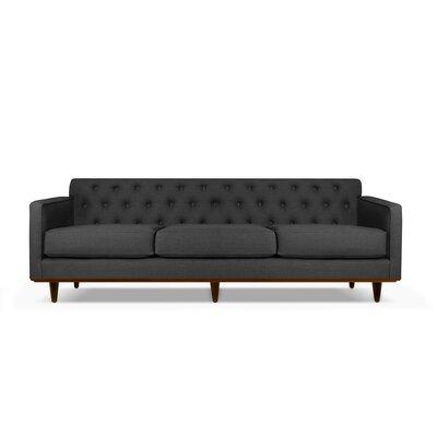 Harvey 90 Sofa Upholstery: Charcoal