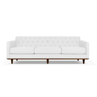 Harvey 90 Sofa Upholstery: White