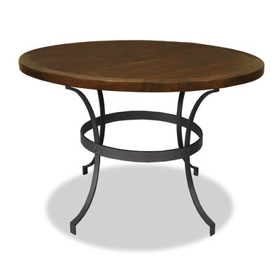 Santa Barbara Dining Table Top Finish: Dry Cement, Size: 42 H x 42 L x 42 W