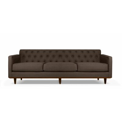 Harvey 90 Sofa Upholstery: Coffee