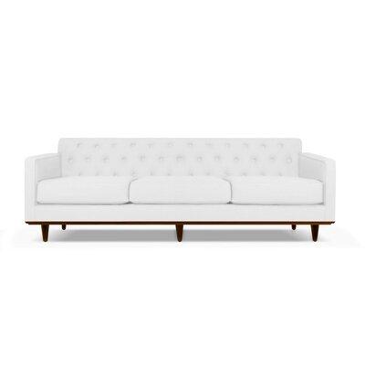 Harvey 72 Sofa Upholstery: White