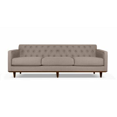 Harvey 90 Sofa Upholstery: Brown