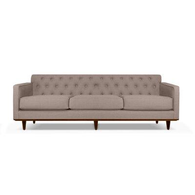 Harvey 72 Sofa Upholstery: Brown