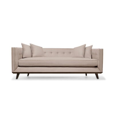 Grace 94 Chesterfield Sofa Upholstery: Kashmir