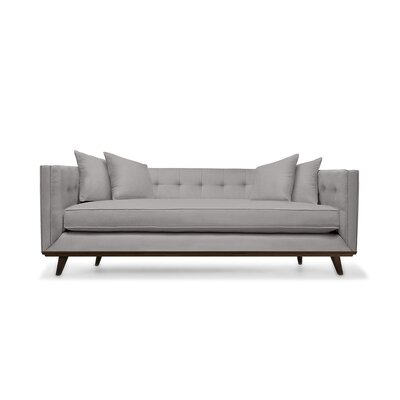 Grace 80 Chesterfield Sofa Upholstery: Linen