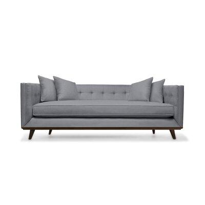 Grace 80 Sofa Upholstery: Gray