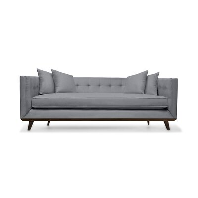 Grace 94 Sofa Upholstery: Gray