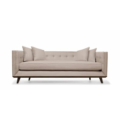 Grace 80 Chesterfield Sofa Upholstery: Kashmir