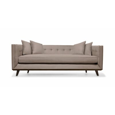 Grace 80 Sofa Upholstery: Brown