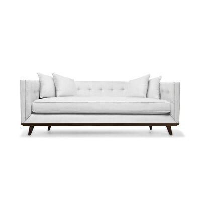Grace 80 Sofa Upholstery: White