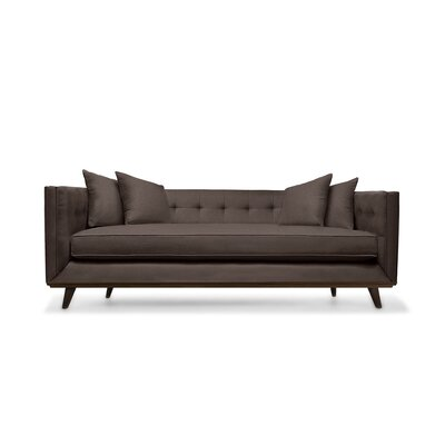 Grace 108 Chesterfield Sofa Upholstery: Coffee