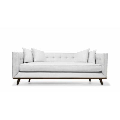 Grace 108 Sofa Upholstery: White