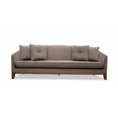 Lucile 84 Sofa Upholstery: Brown