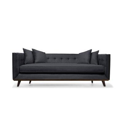 Grace 108 Sofa Upholstery: Charcoal