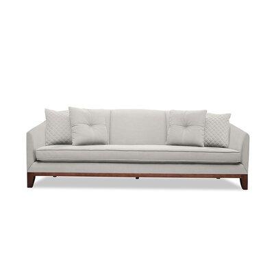 Lucile 84 Sofa Upholstery: Linen