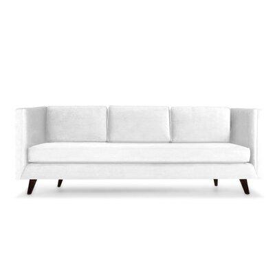 Howard 60 Sofa Upholstery: Pearl