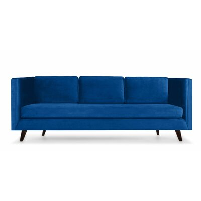 Howard 60 Sofa Upholstery: Blue