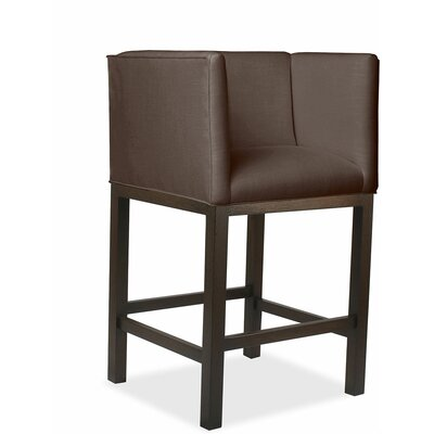 Vernon 30 Bar Stool Upholstery: Coffee