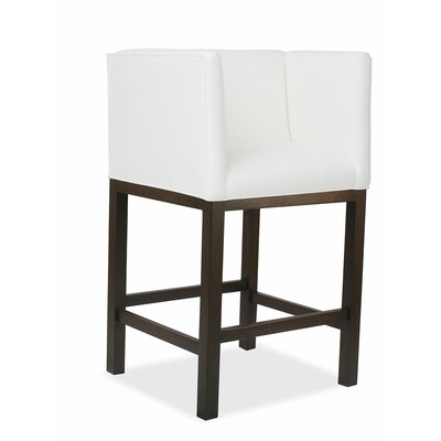 Vernon 30 Bar Stool Upholstery: White