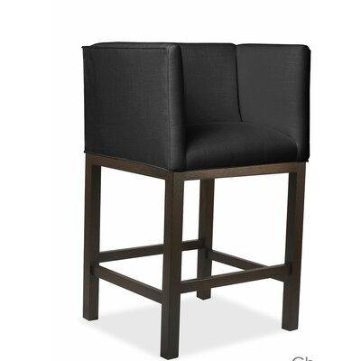 Vernon 30 Bar Stool Upholstery: Charcoal