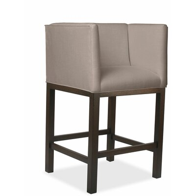 Vernon 30 Bar Stool Upholstery: Brown