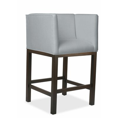 Vernon 30 inch Bar Stool Upholstery: Gray