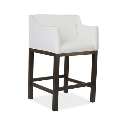 Luther 30 Bar Stool Upholstery: White