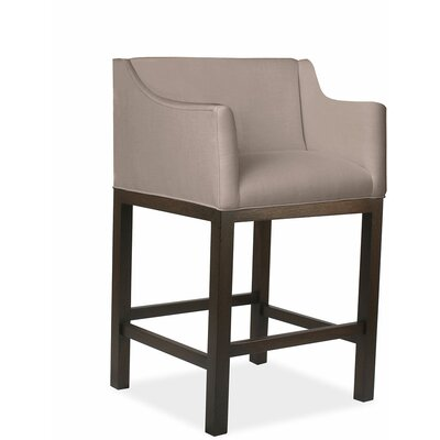 Luther 30 Bar Stool Upholstery: Brown