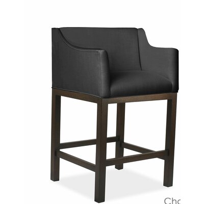 Luther 30 Bar Stool Upholstery: Charcoal