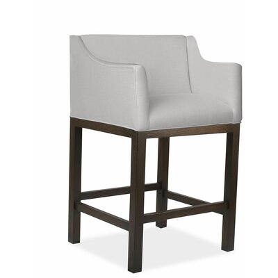 Luther 30 Bar Stool Upholstery: Linen