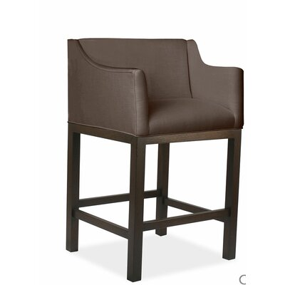 Auriville 30 Bar Stool Upholstery: Coffee
