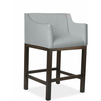 Luther 30 Bar Stool Upholstery: Gray