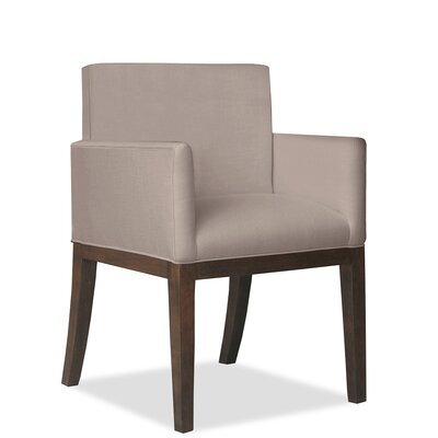 Glenn Arm Chair Upholstery: Brown
