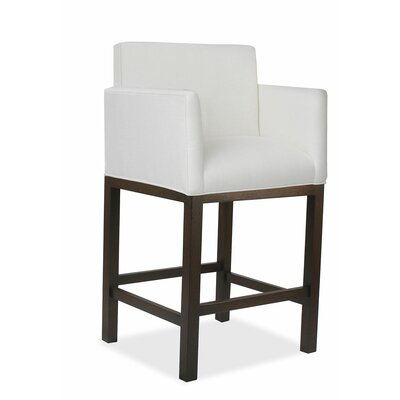 Glenn 30 Bar Stool Upholstery: White