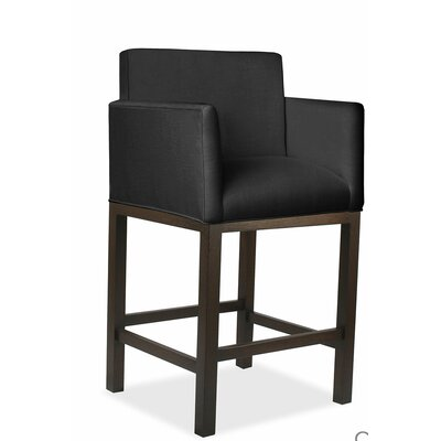Glenn 30 Bar Stool Upholstery: Charcoal