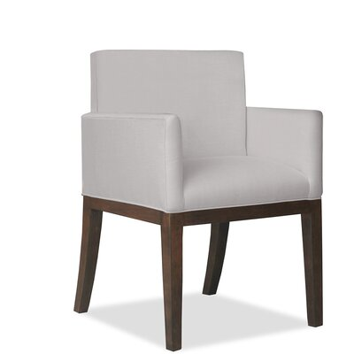 Hanshaw Arm Chair Upholstery: Linen