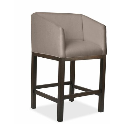 Marion 30 Bar Stool Upholstery: Brown