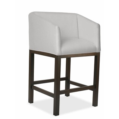 Harber 30 Bar Stool Upholstery: Linen