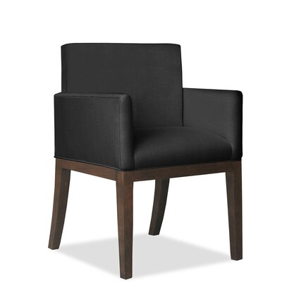 Hanshaw Arm Chair Upholstery: Charcoal