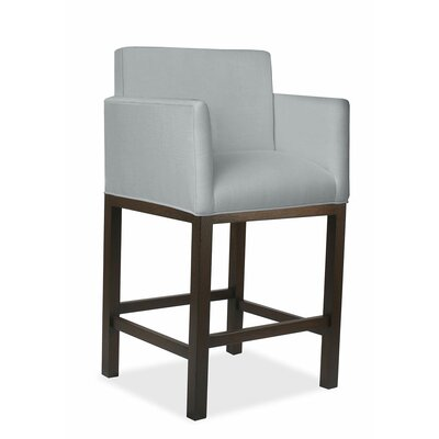 Glenn 30 Bar Stool Upholstery: Gray
