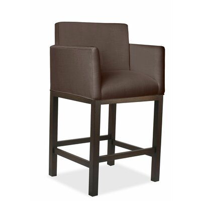 Glenn 30 Bar Stool Upholstery: Coffee